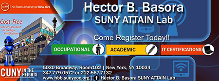 Hector B. Basora SUNY ATTAIN Lab