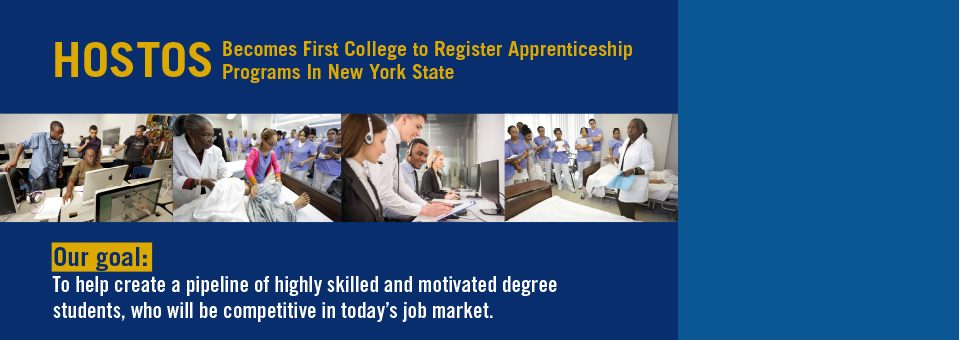 Hostos Becomes First College To Offer Apprenticeship In New York State