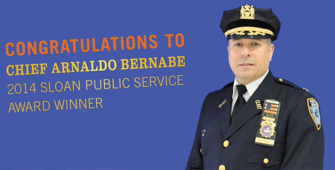 Chief Arnaldo Bernabe, our Director of Public Safety