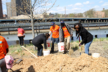 College marks its birthday with large community service project