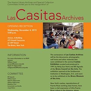 Hostos event celebrates the preservation of local history through Las Casitas Archives