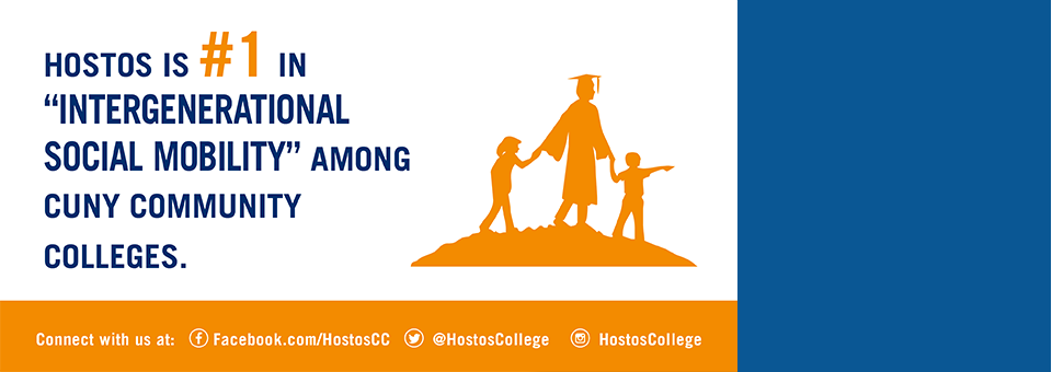 Hostos Ranks #1 In Intergenerational Social Mobility