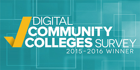 Digital Community Colleges Survey 2015-2016 Winner