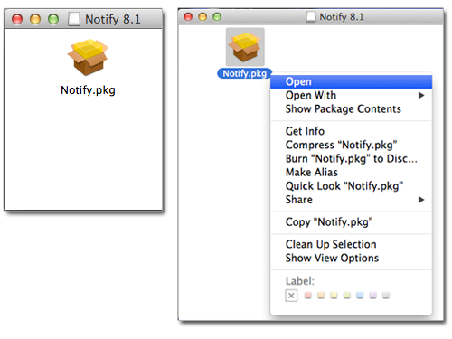 Pharos Notify 8.1 for Mac OS X