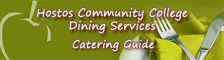Hostos Community College Dining Services: Catering Guide