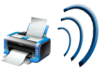 wireless printing logo