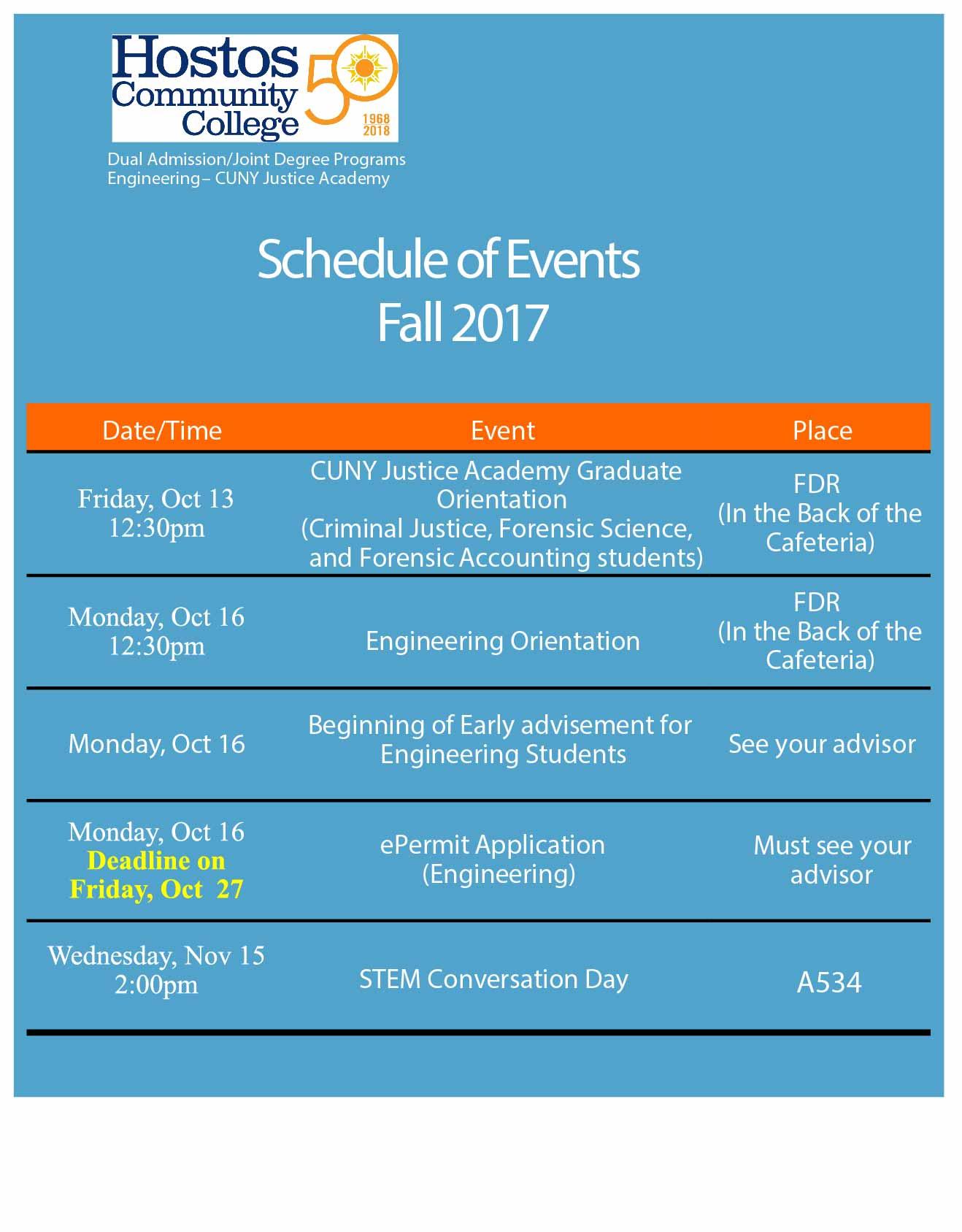 Activities internships research opportunities hostos event calendar magicingreecefo Image collections