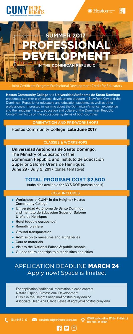 "hostos latin singles A new program at hostos community college will  ""we will become a pipeline of graduates who are primarily latino,  college in bronx to offer a ."
