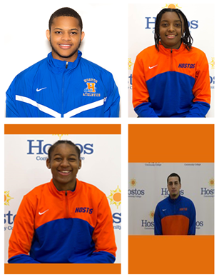 Top Row (left to right): Jemal Smith and Destini Green Bottom Row (left to right): Cashmir Fulcher and Jonathon Loria