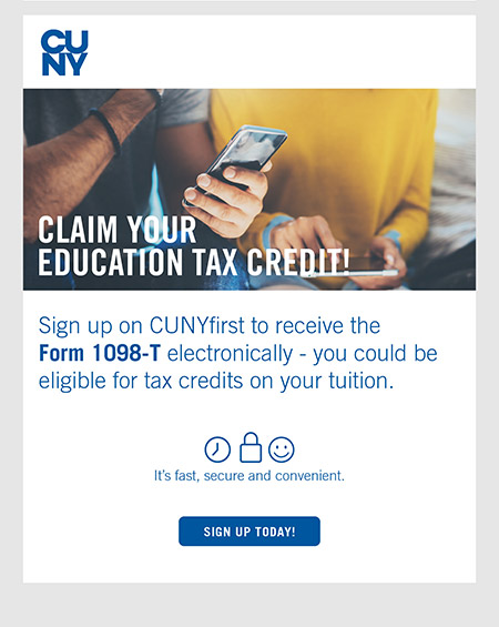 Claim Your Education Tax Credit!