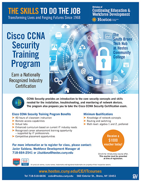 Cisco CCNA Security Training Program