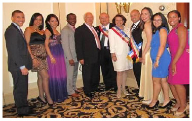 Faculty, Students and Honorees of Hostos Community College.