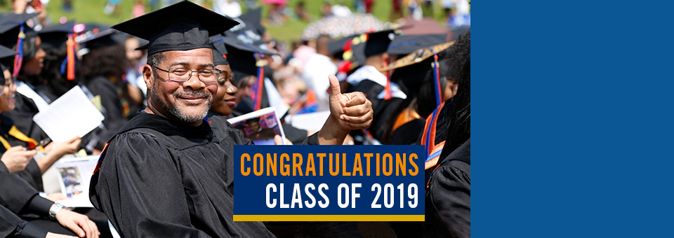 A Record 1,375 Students Collect Diplomas at 2019 Commencement