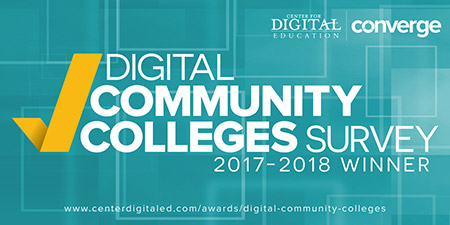 Digital Community Colleges Survey 2017-2018 Top Ten Winner