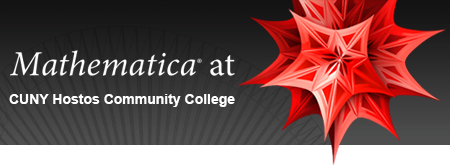 Mathematica at CUNY Hostos Community College