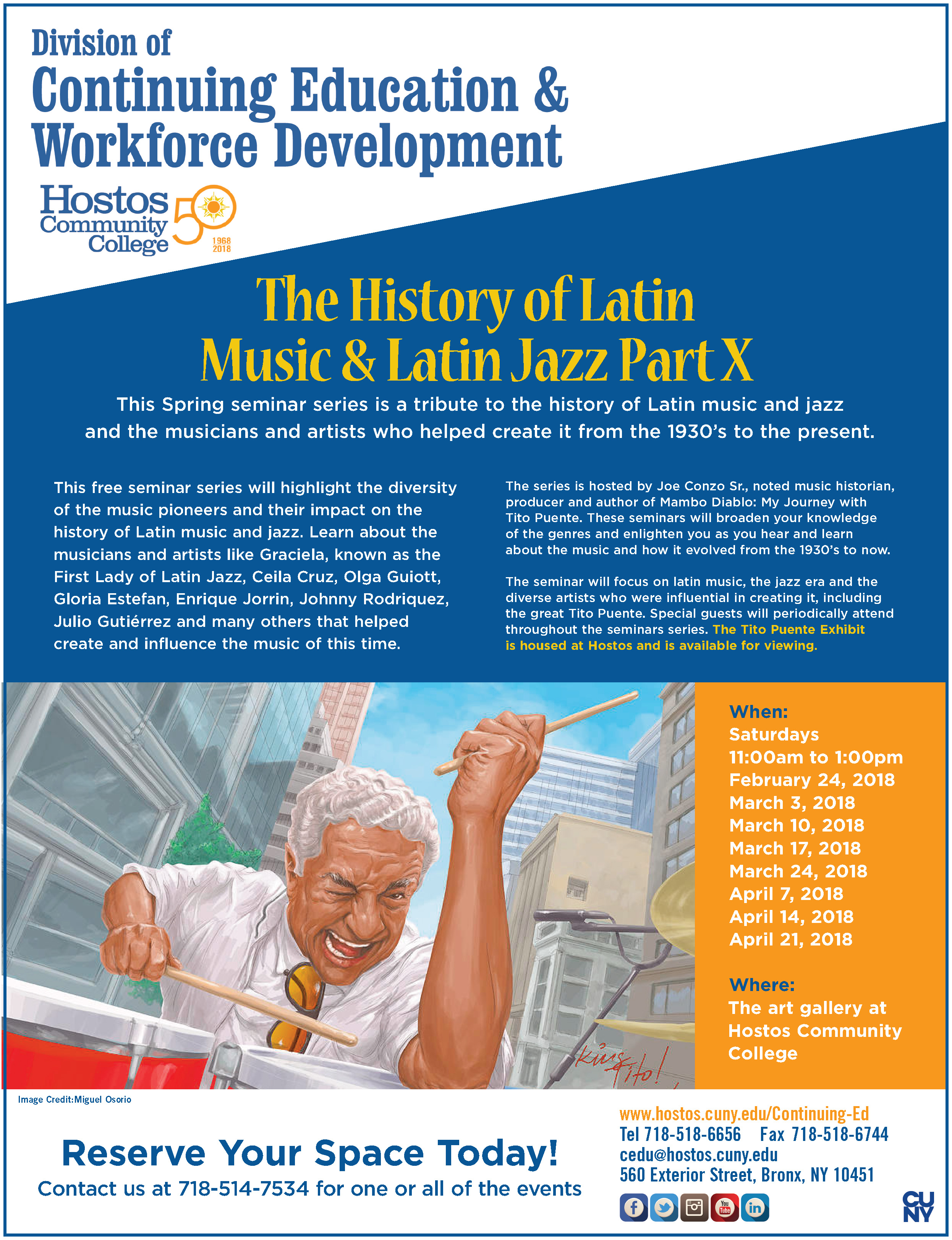 Events | Hostos' Arts Center | Hostos Community College of