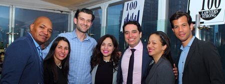 Participants in the 100 Lawyers Strong organization