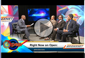 Video of  BronxNet's OPEN program with the administrators of Hostos' CUNY Fatherhood Academy (CFA).